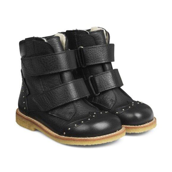 Angulus - TEX-støvle m. velcro & Nitter