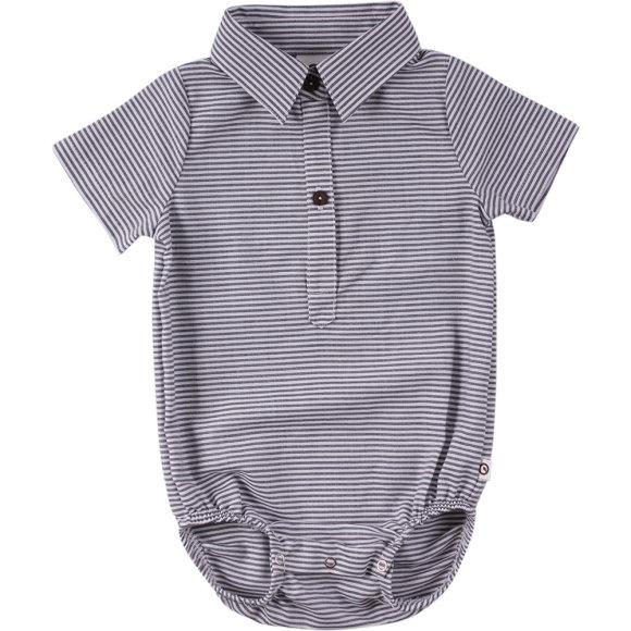 Müsli - Woven stripe t-shirt body