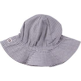 Müsli - Woven stripe beach hat