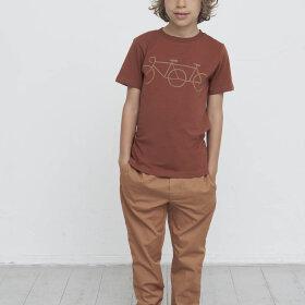 Gro - Bobby chinos track pant w. elastic