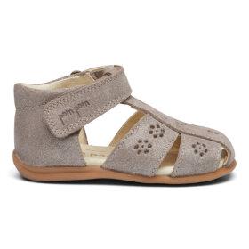 POM POM - Starters flower sandal glitter silver