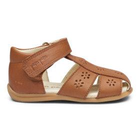 POM POM - Starters flower sandal Camel