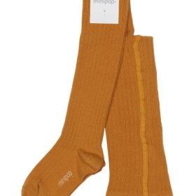 POM POM - minipop bamboo tights Mustard