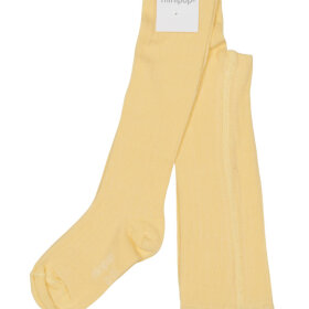 POM POM - minipop bamboo tights Yellow