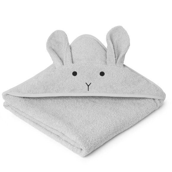 Liewood - Towel Augusta Grey/Rabbit