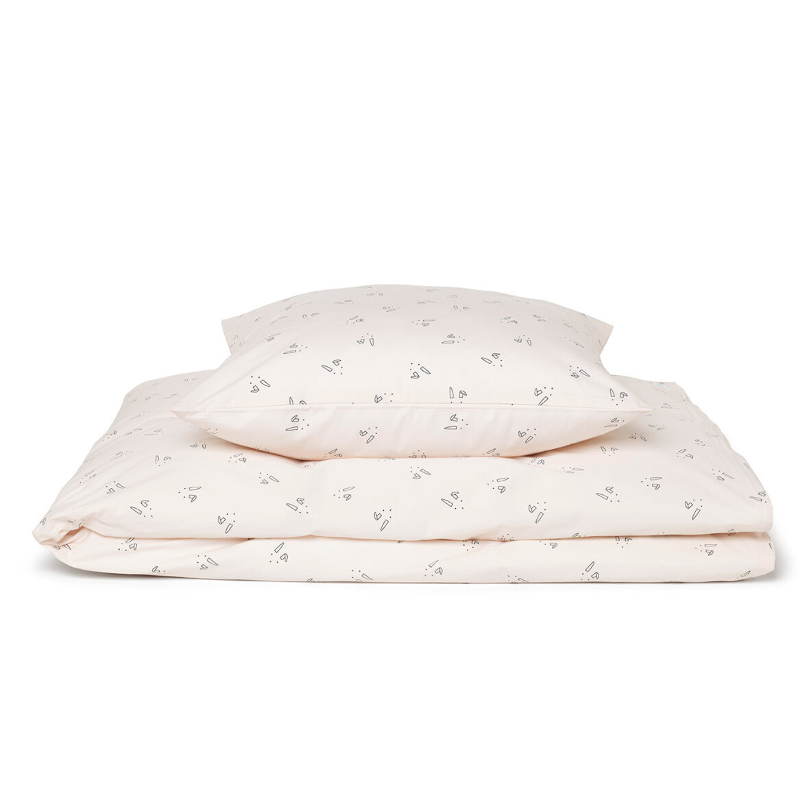 c1d3642665b Liewood Bedding Rabbit Rosa - Skruuk