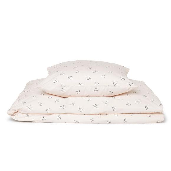 Liewood - Bedding Rabbit Rosa