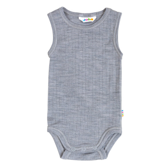 JOHA - Body W.Out Sleeves Uld Grey