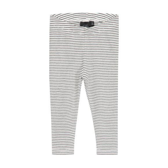 PETIT BY SOFIE SCHNOOR - Leggings WHITE/BLACK